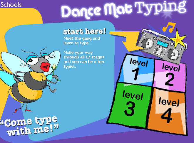 BBC - Schools - Dance Mat Typing - Home - St Barnabas Primary